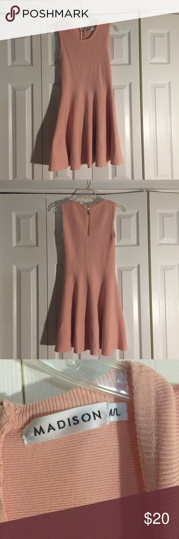 ********* Purchased in Paris, Madison dress! Hey ladies and girls, I purchased this gorgeous light pink dress from a shop in Paris. It was my first day in the city of lights and I saw this and fell in love with it. I got back to my room and realized it was a size m/l. I totally forgot where the little boutique was. I have no idea how much this dress is truely worth but the aveux used on this is thick and very nice! This is a m/l so if you're that size have fun in a paresian dress, which I am…
