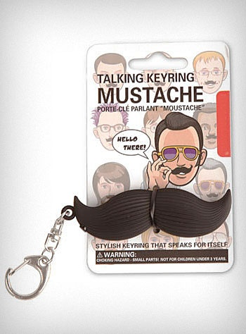 My best friend gave me this talking mustache keychain. I LOVE IT SOOOO MUCH!Moustaches Keychains, Mustaches Keys, Keyring Mustaches, Mustaches Keyring, Krl31Tc Mustaches, Mustaches Keychains, Talk Keyring, Rebel Moustaches, Talk Mustaches