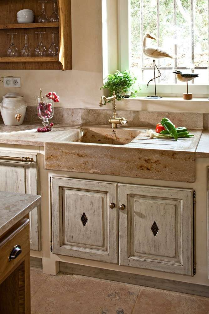 Idee per arredare la cucina in stile provenzale (Foto 5/40)   Donna ...