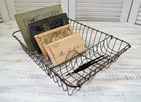 Wire Dish Drainer - kitchen dish draining rack by Old Time Pickers
