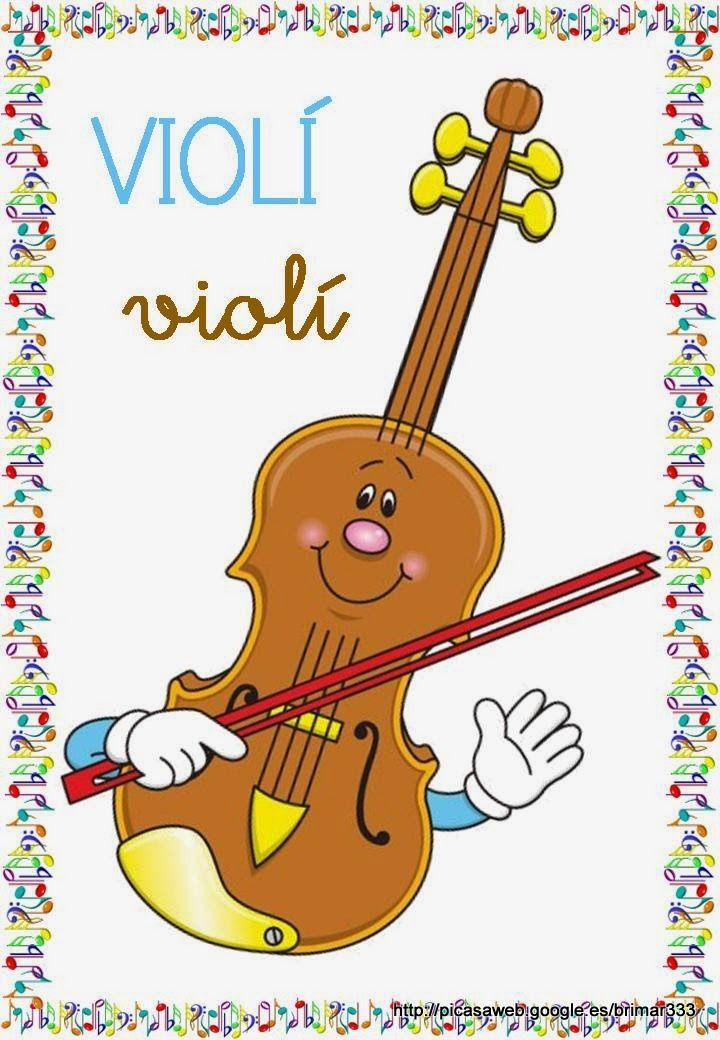 Educació Infantil Brimar: VOCABULARI INSTRUMENTS MUSICALS