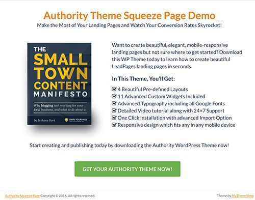 Authority Theme | MyThemeShop #wordpress #theme #template #blogging #website #online #business