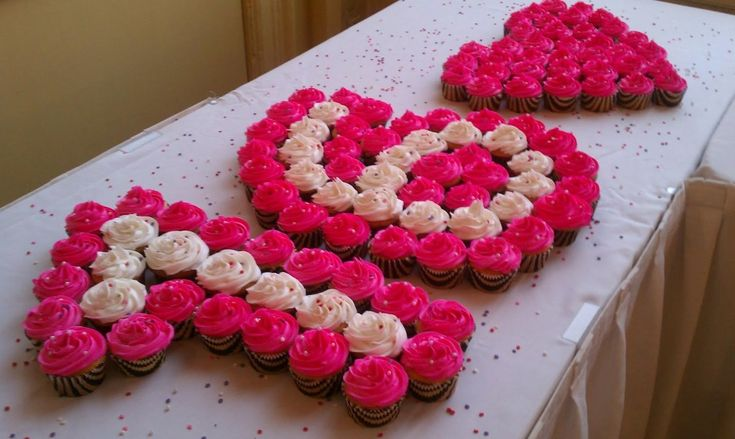 Sweet 16 Birthday Cup Cakes Ideas #EbatesTurns16