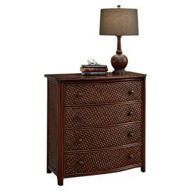 Marco Island 4-Drawer Chest in Cinnamon
