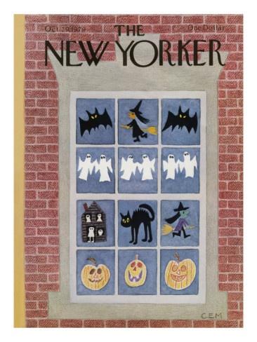 october 29, 1979 New Yorker Halloween cover