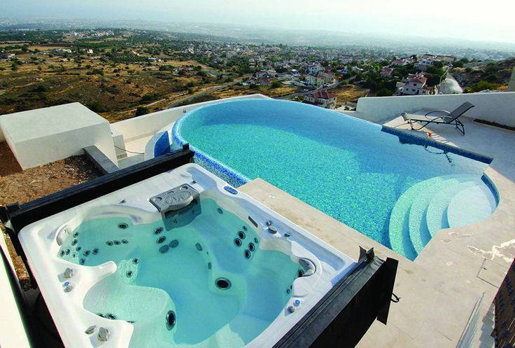 Backyard Ideas for Hot Tubs and Swim Spas | Swim spa ...