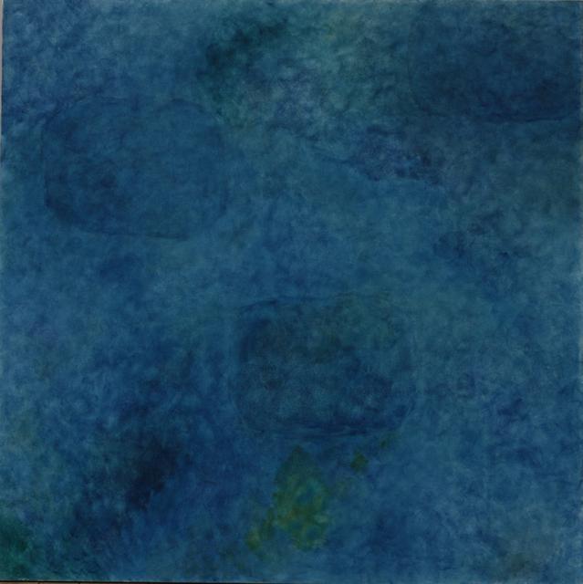 Françoise Sullivan, Ocean No17, 2006, acrylic on canvas, 60x60in © Courtesy Corkin Gallery