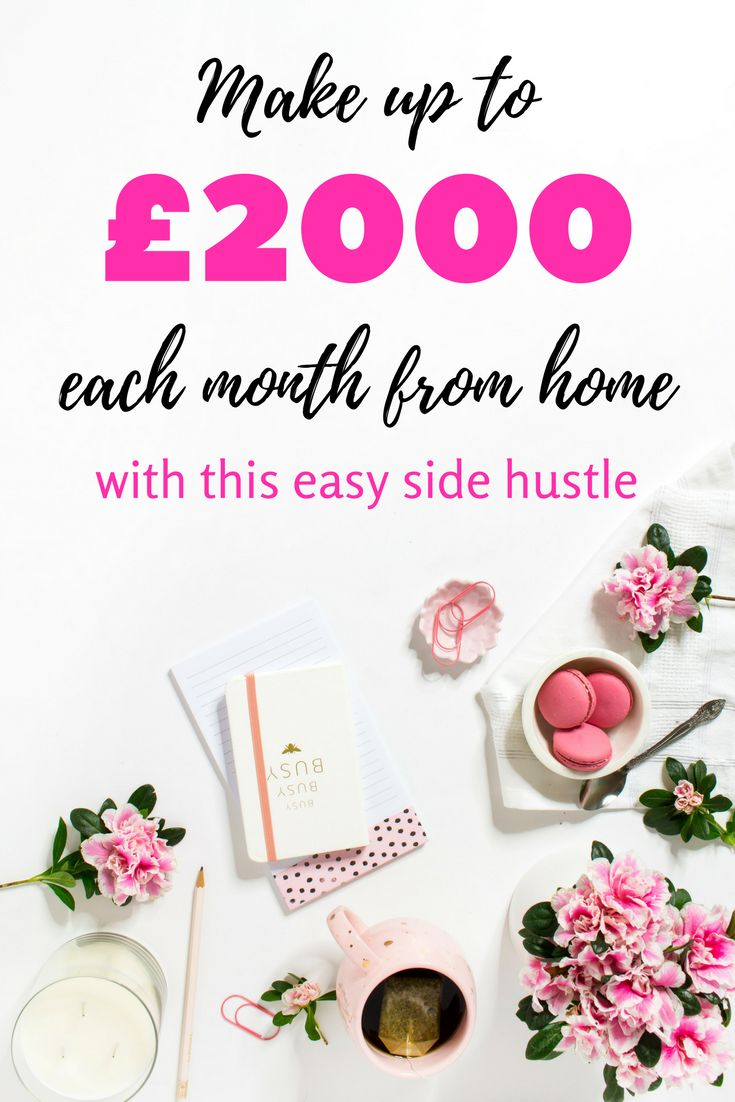 Looking to earn extra money from home in the UK? This is the absolute best work from home opportunity I've found. I personally earn several hundred each month but some people earn up to £2000! It's all about the hours you put in. You can work from home at the times that suit you, it's completely flexible. Great side hustle for stay at home mums, parents, students, or even someone with a 9 to 5 who could do with some extra cash! (affiliate link)