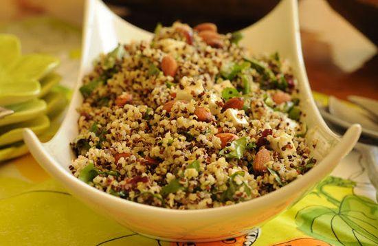 Quínoa, recetas nutricionales  para el organismo