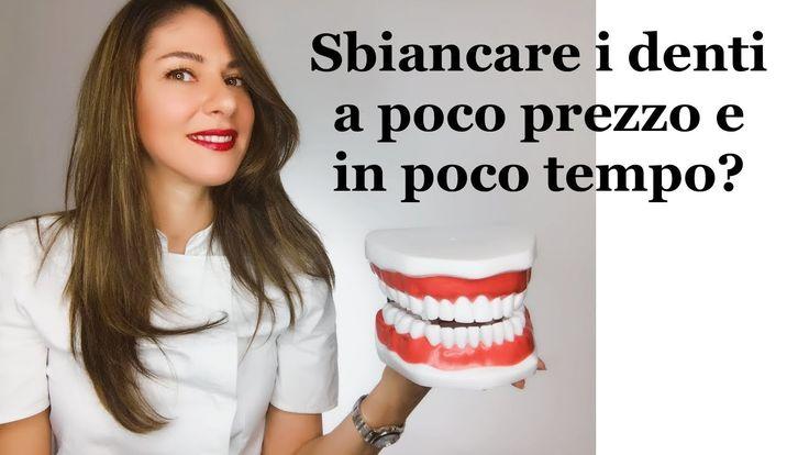 Sbiancare i denti a poco prezzo e in poco tempo? - YouTube