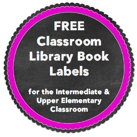 If you are wanting to revamp your classroom library over the break, this might be just what you need! {FREE Labels!}