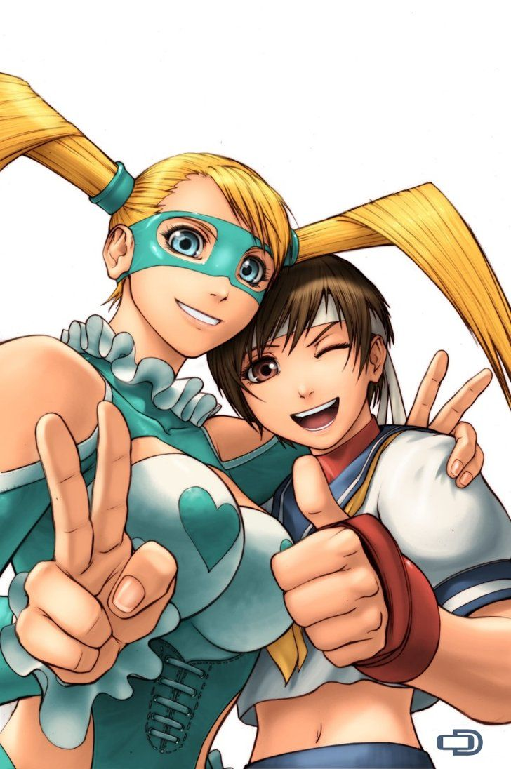 SF Legends Sakura Issue 2A by #UdonCrew on deviantART