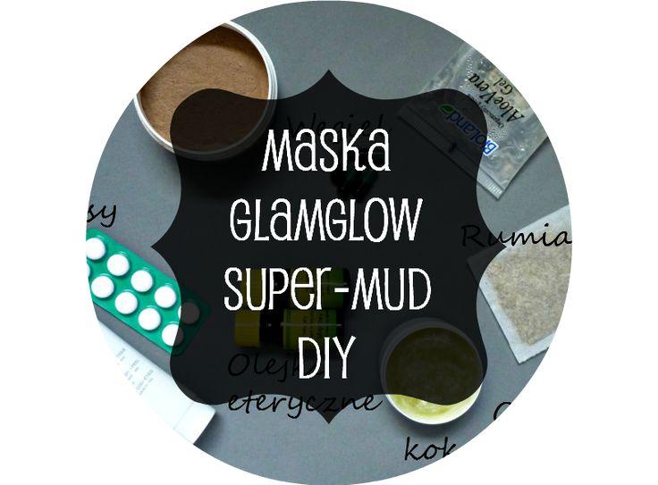 Maska GlamGlow Super-mud Sephora DIY cera tłusta i mieszana