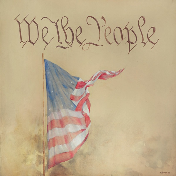 We the Peopleof the United States, in Order to form a more perfect Union, establish Justice, insure domestic Tranquility, provide for the common defence, promote the general Welfare, and secure the Blessings of Liberty to ourselves and our Posterity, do ordain and establish this Constitution for the United States of America.