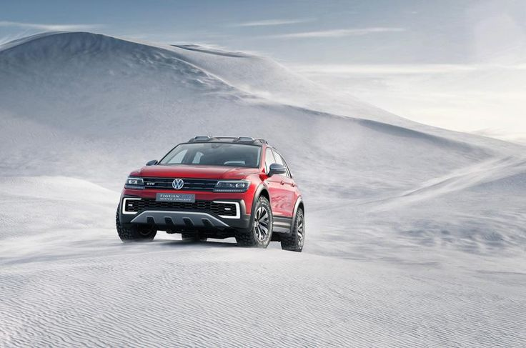 Volkswagen will showcase a more off-road focused version of the Tiguan GTE at the Detroit Motor Show.