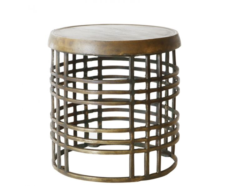 Brass Antiqued Low Occ. Table - Furniture | Weylandts South Africa