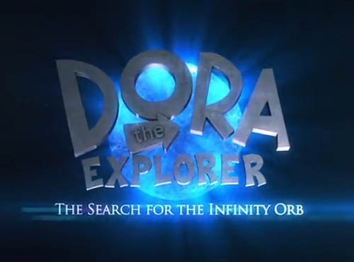 From the producers of True Lies and the writers of Yo Gabba Gabba comes Dora The Explorer And The Search For The Infinity Orb.