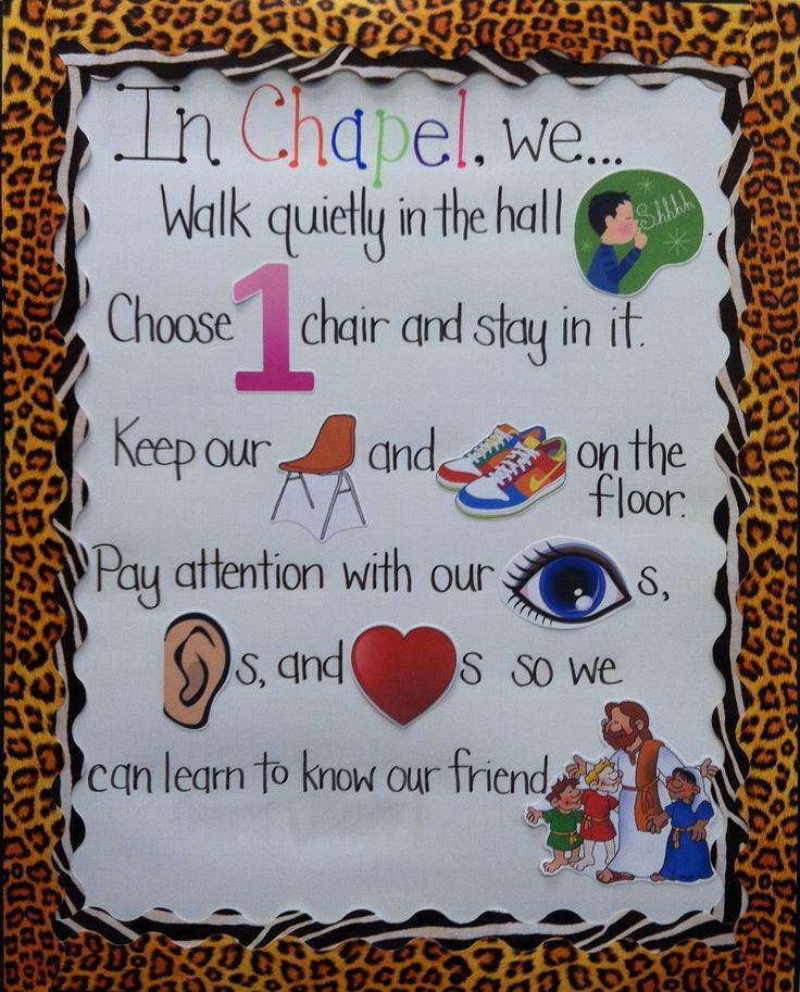 Interactive Rule Board   Preschool Classroom Management Idea