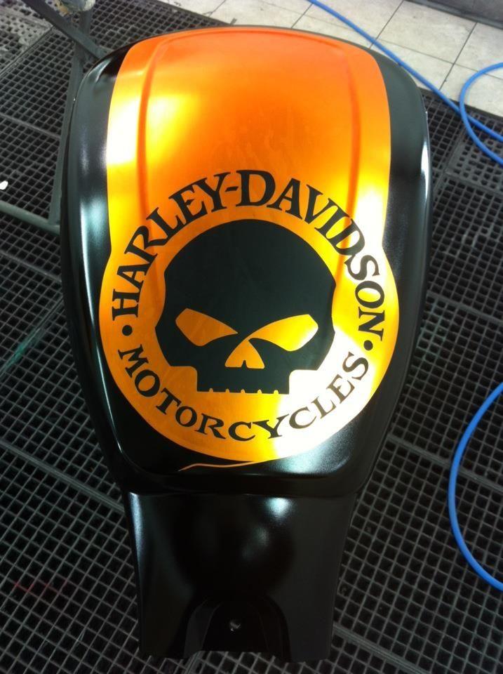 Sticker Autocollant Harley Davidson Skull Sticker Autocollant Harley Davidson Tete De Mort Harley Davidson Autocollant Autocollant Moto