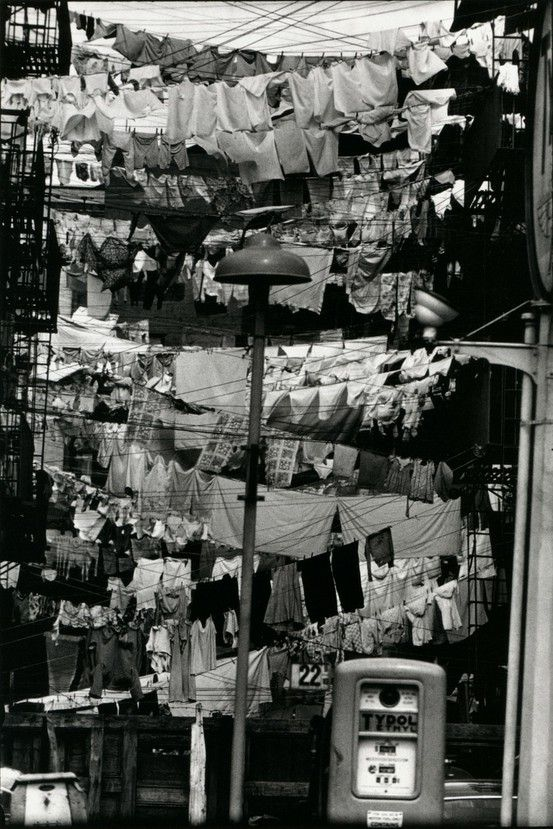 Hoboken, New Jersey by Elliott Erwitt. 1954