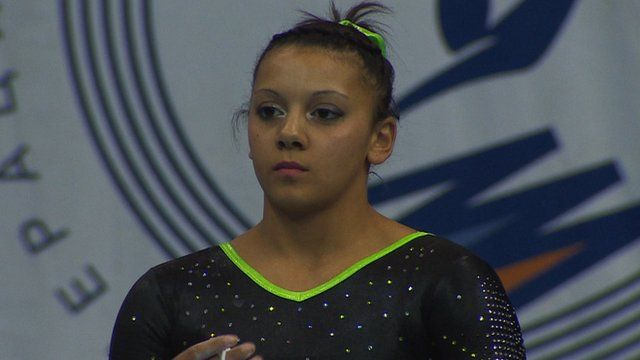 Rebecca Downie could end a seven-year wait for a major honour after qualifying with the second-best score for the European uneven bars final.