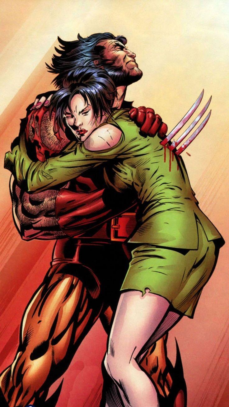 Wolverine and Mariko Yashida by Scot Eaton