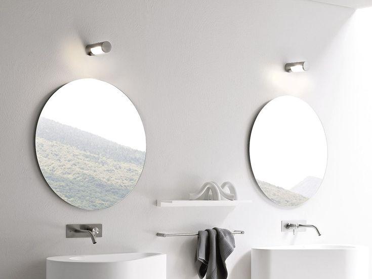 Specchio bagno rotondo Collezione Hole by Rexa Design | design Susanna Mandelli