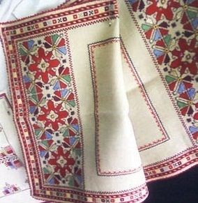 Bulgarian traditional embroidery