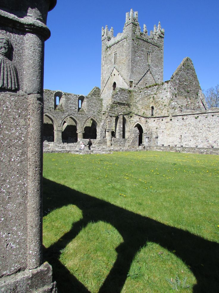 Jerpoint Abbey, Thomastown, Co. Kilkenny. Ireland