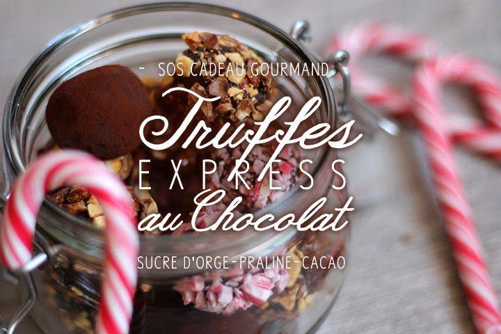 Blog Cuisine & DIY Bordeaux - Bonjour Darling - Anne-Laure: SOS Cadeau Gourmand : Truffes au chocolat