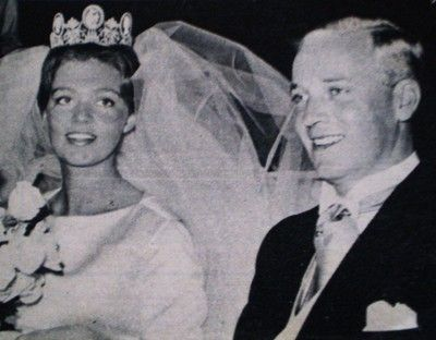 That's Princess Birgitta. She's the 2nd of the King's 4 older sisters. She married HRH Prince Georg von Hohenzollern back in the 60s - the only one of her sisters to have an 'equal' marriage.