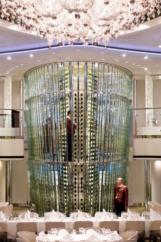 La Impresionante Bodega de Cristal de los cruceros Celebrity Solstice & Eclipse