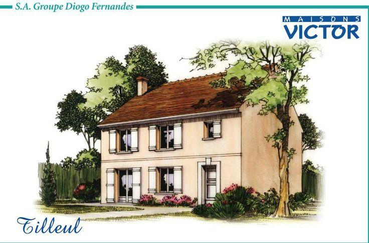 17 meilleures images propos de plans et dessins de for Modele maison victor