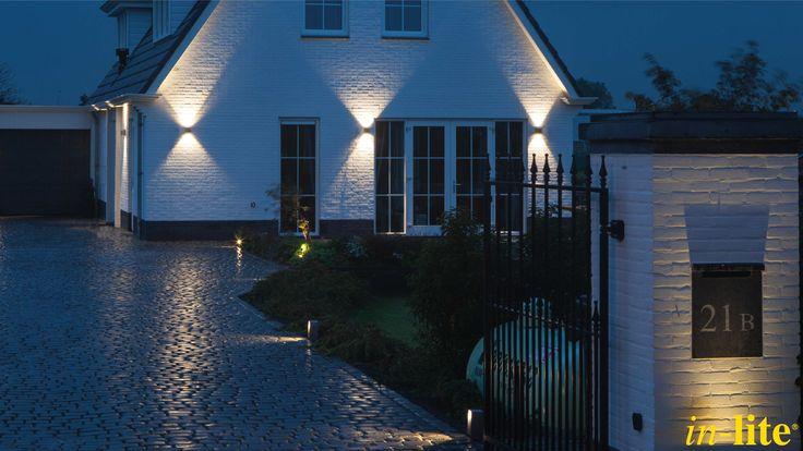 ACE UP-DOWN 100 - 230V | Buitenverlichting | Strak lichtbeeld | Inspiratie | ACE | Pad | Tuin | Outdoor lighting