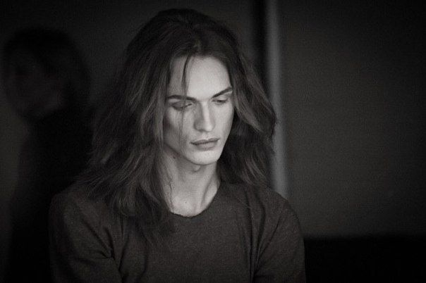 Androgynous Model Danila Kovalev, mm, kinsky ish looking