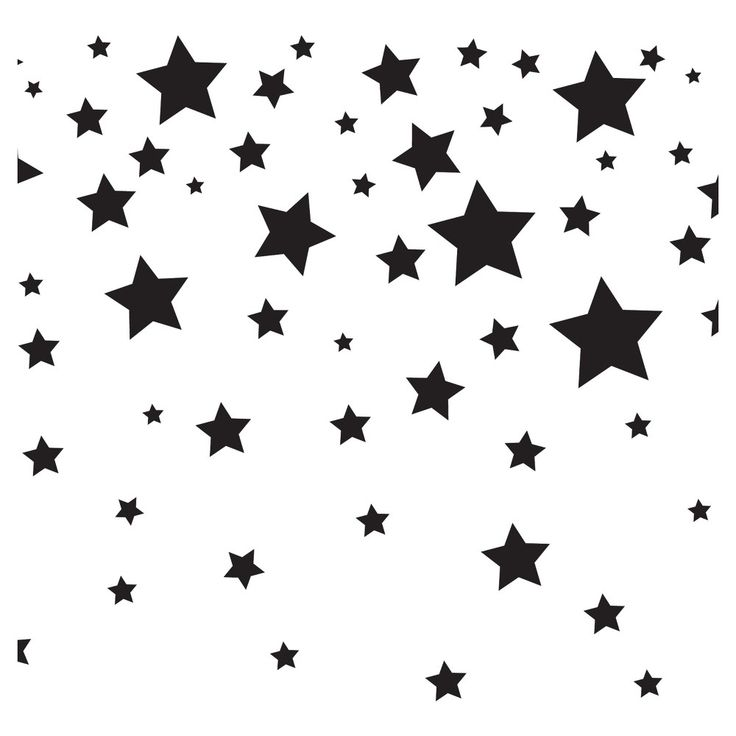Tempaper Kids Falling Stars Self Adhesive Removable