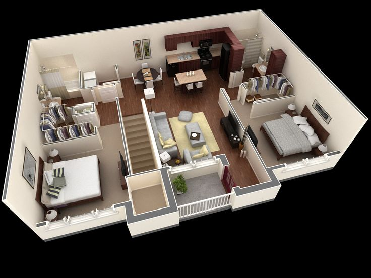 743 Best Images About Planos On Pinterest House Plans Apartment Floor Plans And Apartment Plans