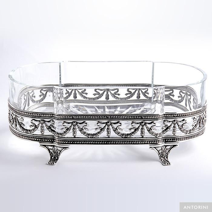 Traditional Bowl, silver plated