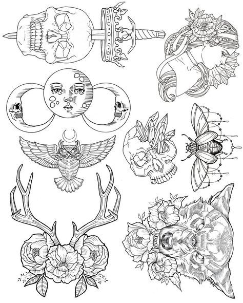 Wendy Ortiz Tattoo Flash - First Edition