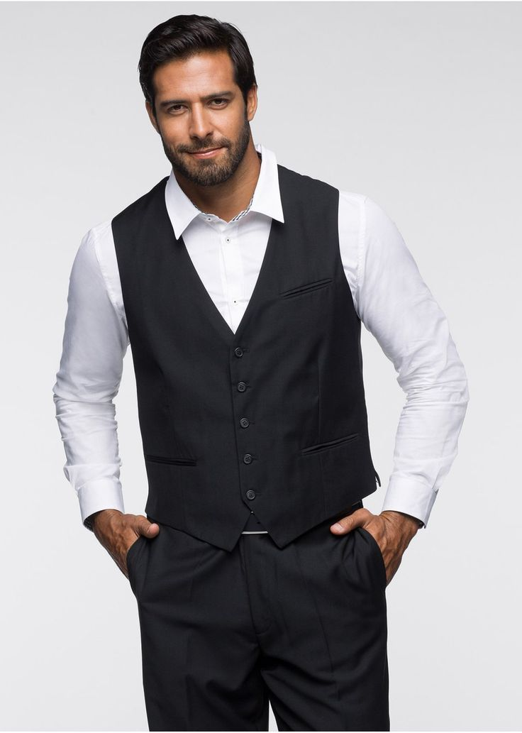 A chic vest for Christmas parties available at Bonprix. Don't forget about the 6% cashback for shopping via CashOUT #cashback #menvest #menfashion #Christmas