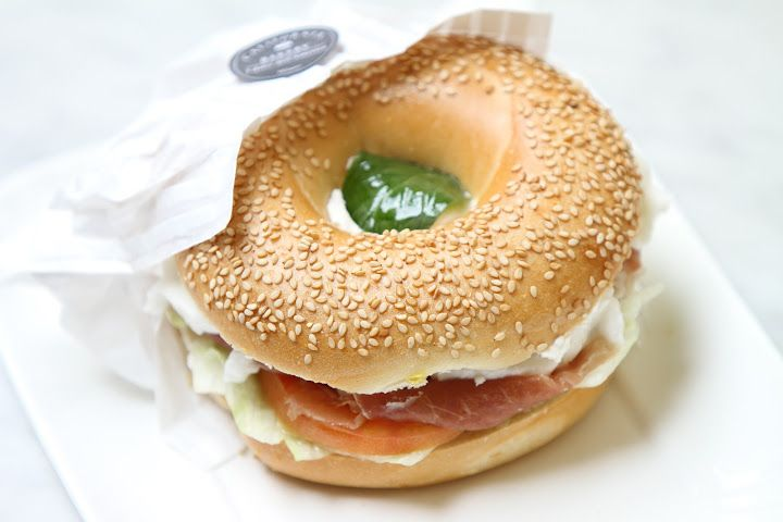 Italian Style bagel by California Bakery