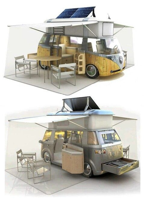 http://www.off-the-grid-homes.net/living-off-the-grid.html Enjoying your life off of the grid. My kind of VW Camper