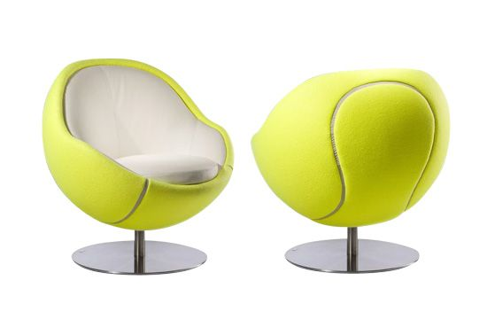 The Tennis Volley Armchair Gift by Paolo Lillus