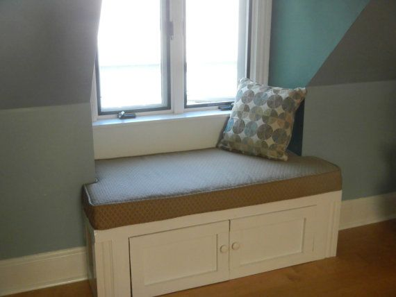 Cushion and Cover for Window Seat