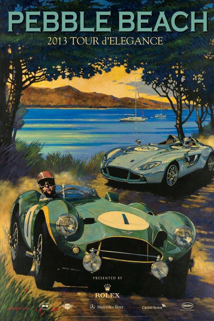 """Images: Barry Rowe """"An atmosphere and interaction that allows you to see every automobile at its finest."""" Capturing light, atmosphere and auto racing with a unique and immersive style, Barry Rowe's automobile art is uniquely evocative and ..."""
