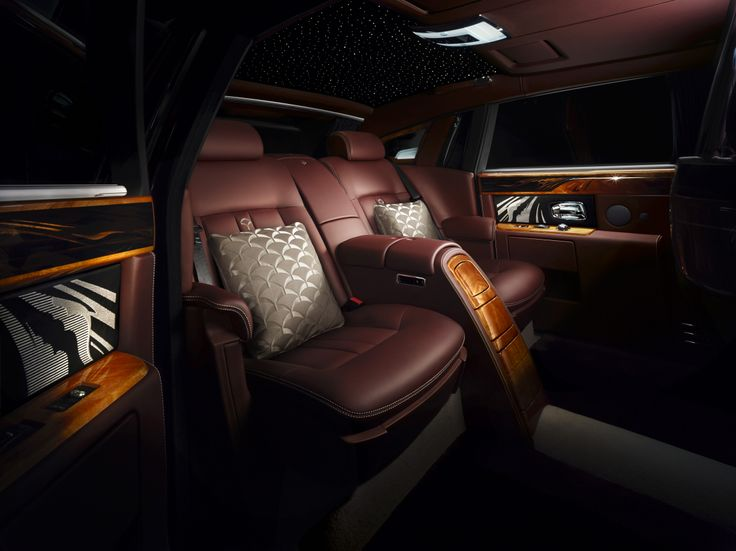 Phantom Pinnacle Travel Collection - Interior with cushions