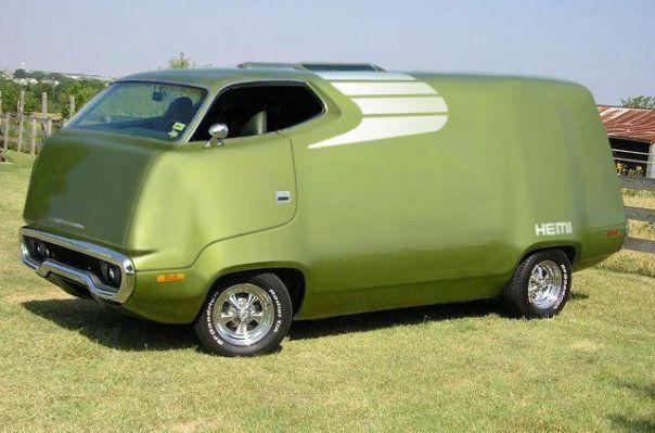 is it a panel van, is it a frog?Trucks, Plymouth Roadrunner, Funny Humor, Colors, Cars, Plymouth Roads Runners, Funny Stuff, Custom Vans, Hot Wheels