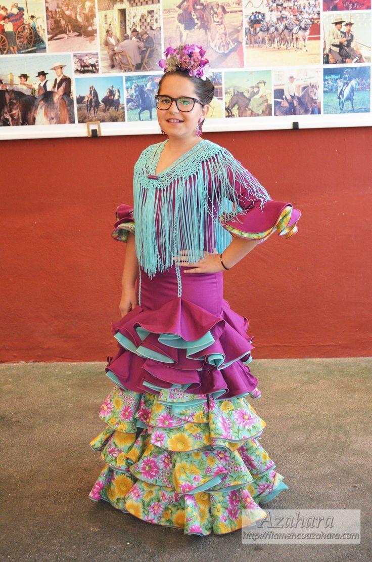 #trajesdeflamenca #modaflamenca #buganvilla #turquesa #trajesdegitana #azahara #fuengirola