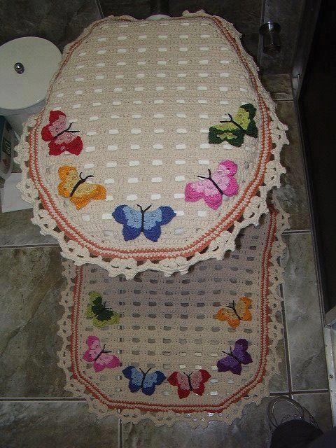 jogo banheiro borboleta