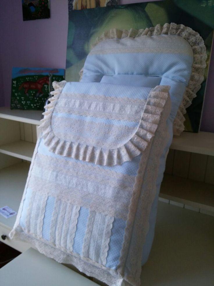 Saco lencero en pique rosello, encajes de alençon y batista de organza , diseño y confección propios, hecho en España http://www.lacomodadepilar.com/ http://lacomodadepilar.blogspot.com.es/ https://www.facebook.com/lacomoda.depilar